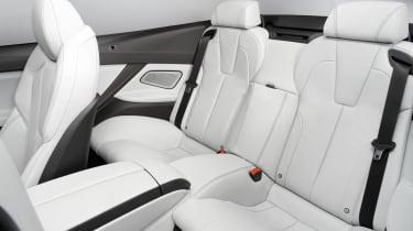 2012 BMW M6 convertible rear seats