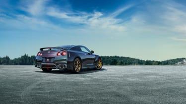 MY22 Nissan GT-R T-spec – rear quarter