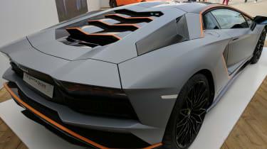 Lamborghini Aventador Goodwood special rear