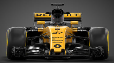 Renault Sport R.S.17 2017 Formula One car head on