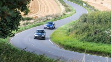 VXR8 GTS-R vs Carlton - tracking