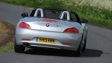 2013 BMW Z4 sDrive18i silver rear