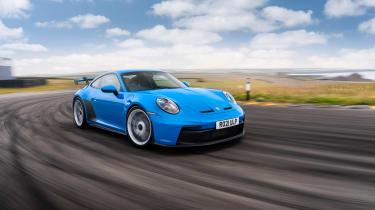 992 Porsche 911 GT3 manual – cornering tracking
