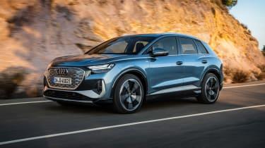 Audi Q4 e-tron – front tracking