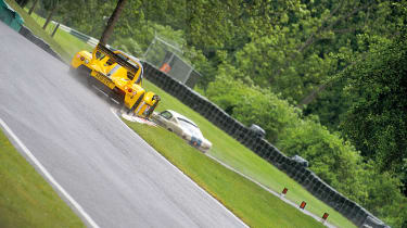 Radical SR3 SL on track, rear