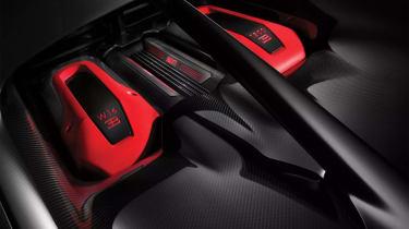 Bugatti Chiron Sport –engine