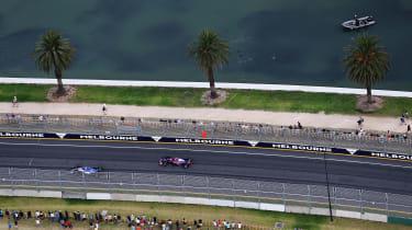 Toro Rosso top Melbourne