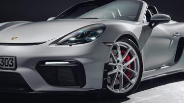 Porsche 718 Spyder wheel