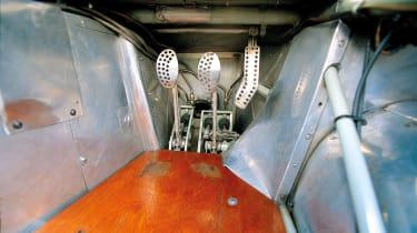 Aston Martin DBR1 pedal box