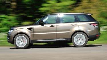 2013 Range Rover Sport Supercharged side profile