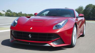 Ferrari F12 Berlinetta front view