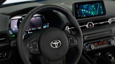 Toyota GR Supra Jarama Racetrack Edition revealed - dash
