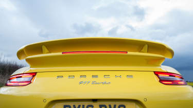 991.2 Porsche 911 Turbo S - tail