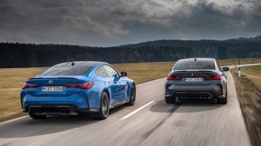 BMW M3/4 Competition xDrive rear