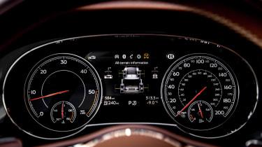 Bentley Bentayga Diesel - gauges