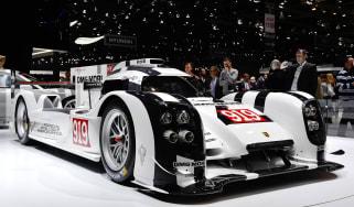 Porsche 919 Le Mans racer unveiled: Geneva 2014