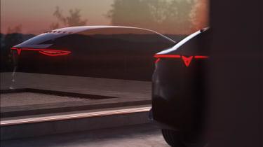 Cupra electric SUV concept teaser