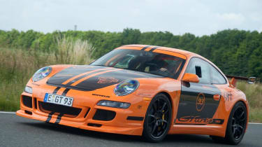 9ff GTurbo GT3 RS tracking