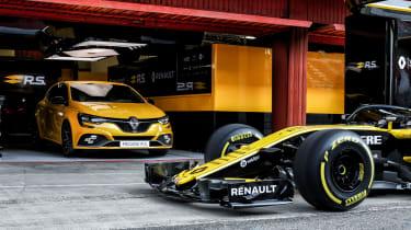 Renault Sport Megane RS 300 Trophy - pit