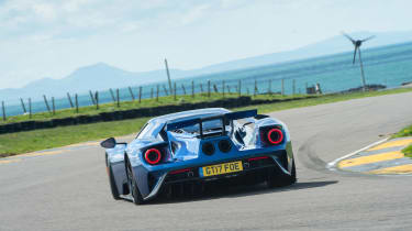 Road-legal supercars – Ford GT rear