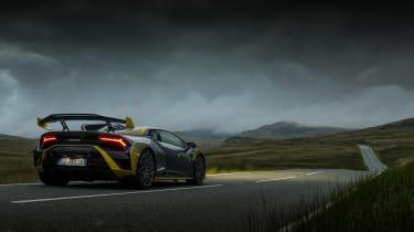 Lamborghini Huracan STO CP – rear night