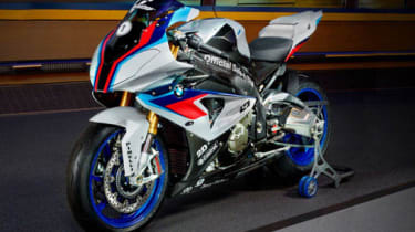 BMW HP4 2013 safety bike