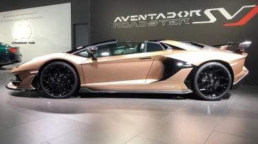 Lamborghini Aventador SVJ Roadster side