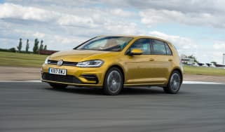 VW Golf - front tracking