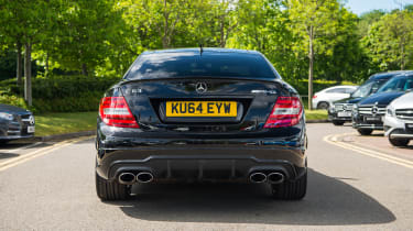 Mercedes-Benz C63 AMG Coupe – rear