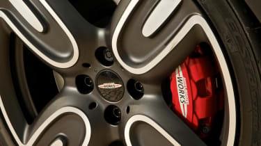 2013 Mini John Cooper Works GP alloy wheel bespoke Kumho tyre