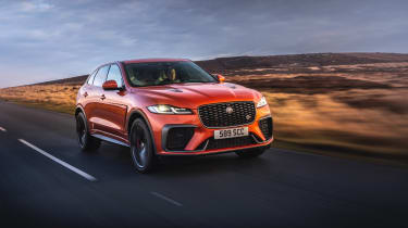 Jaguar F Pace SVR 2021 review - 2