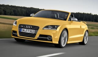 Audi TTS Competition Roadster yellow front