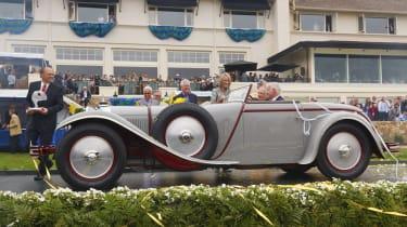 The 'Best in Show' 1928 Mercedes-Benz 680S Saoutchik Torpedo (Photo: Rolex)