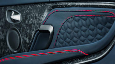 Aston Martin DBS Superleggera - door panel