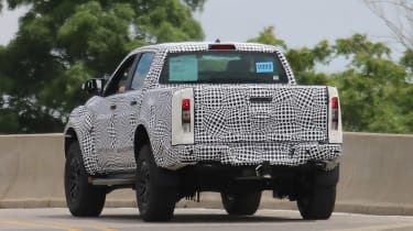 Ford Ranger Raptor spy - rear4