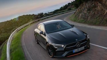 Mercedes CLA 2019 revealed - nose