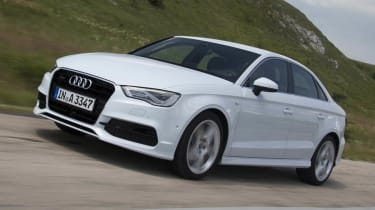 2013 Audi A3 Saloon white