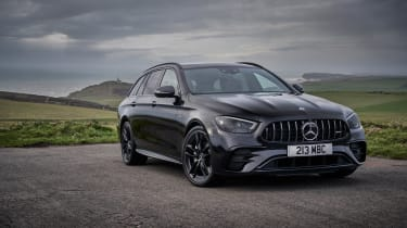 2021 Mercedes-AMG E53 4Matic+ Estate - front quarter static