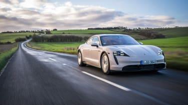 Porsche Taycan rwd - coffee tracking 3