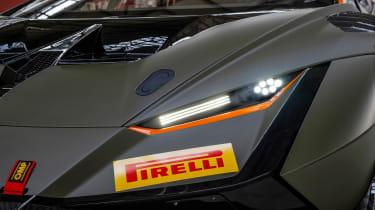 Lamborghini Huracán Super Trofeo Evo 2 – headlights