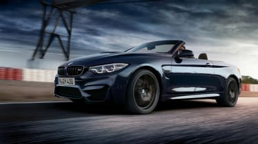 BMW M4 Convertible Edition - front