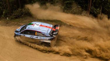WRC Rally Australia - i20 roof