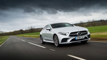 Mercedes-Benz CLS 400d front three quarters