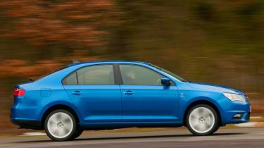 2013 Seat Toledo 1.6 TDI side profile