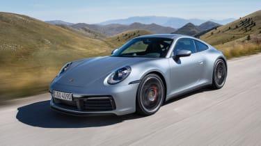 Porsche 911 - front quarter