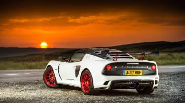 Lotus Exige 380 Cup - rear static