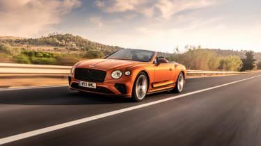 Bentley Continental GT Speed – front quarter