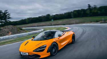 McLaren 720S track pack - front quarter