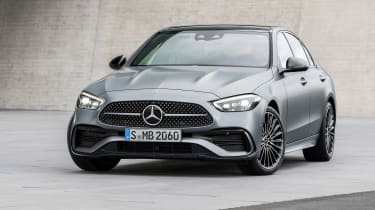 2021 Mercedes C-class revealed - nose static