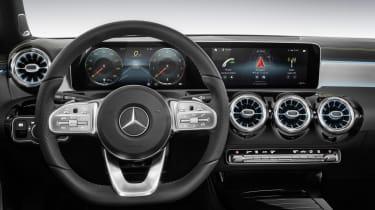 Mercedes-Benz A-class interior studio